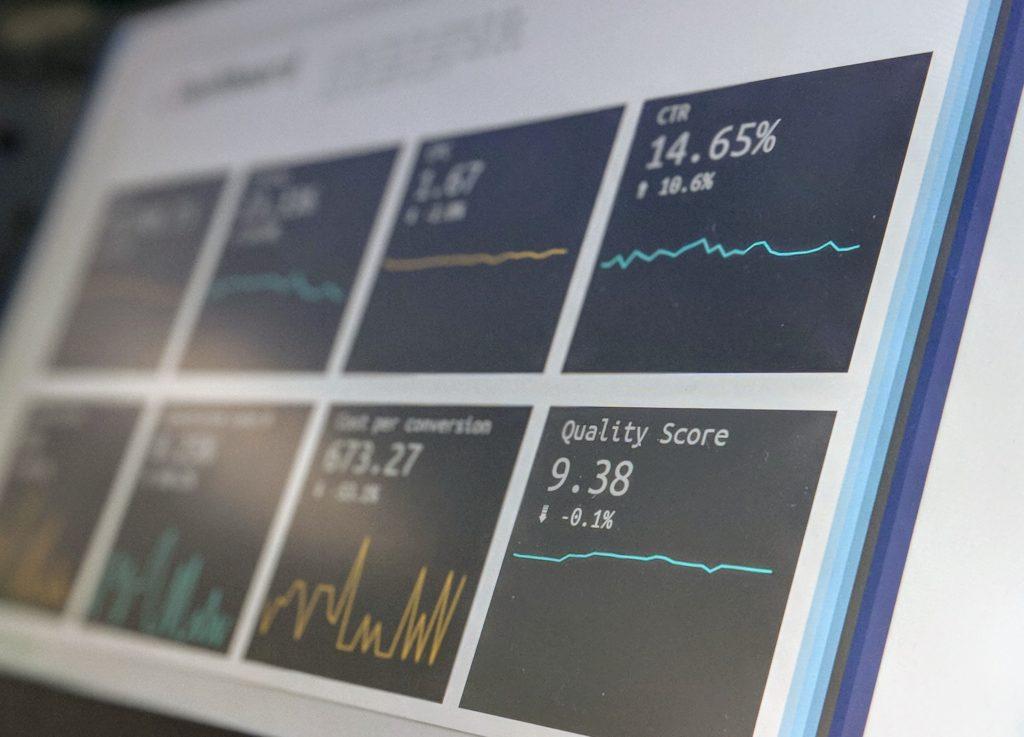 Dashboard pour interpréter les données issues de l'IA