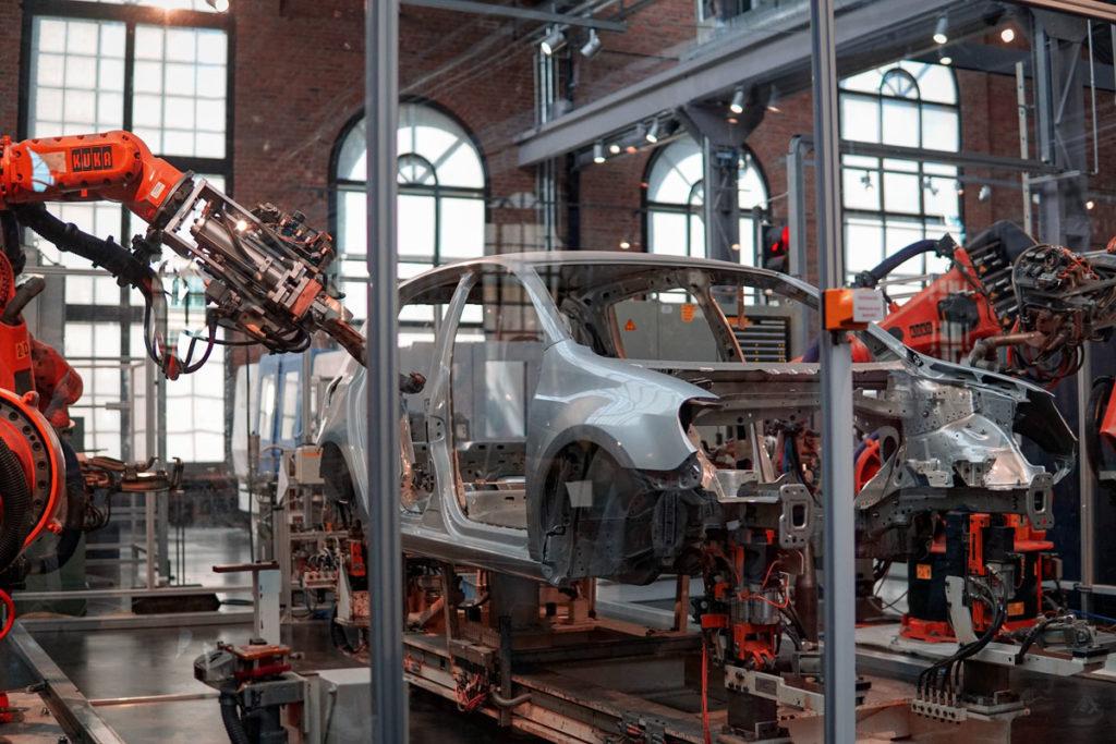 Production automobile usine sap pp